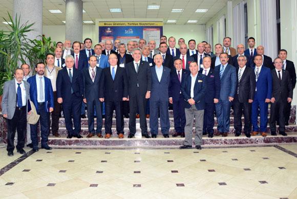 İSO Meclis Üyeleri Cumhuriyetimizin Temellerinin Atıldığı Sivas'ta