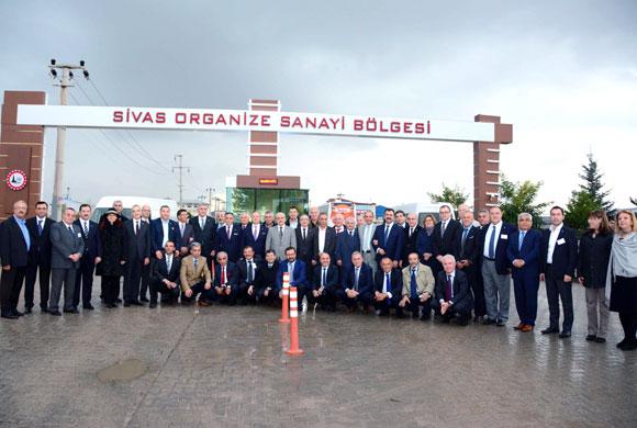 İSO Üyeleri Sivas'taki Sanayi Tesislerinden Çok Etkilendi