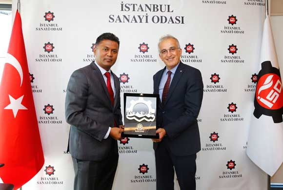 Mohamed Rizvi Hassen, Ankara Ambassador of Sri Lanka Visited ICI