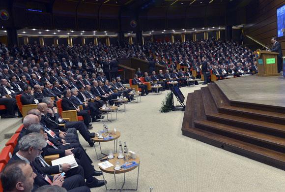 8. Türkiye Ticaret ve Sanayi Şurası Başbakan'ın Katılımıyla Gerçekleşti