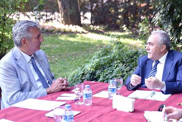 İSO Başkanı Bahçıvan, Yeni Tarım Bakanı Fakıbaba'yı Ankara'da Ziyaret Etti
