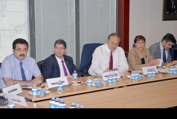 Sanayi Teknopark Ortak Çalışma Komisyonu, İkinci Toplantısını Yaptı