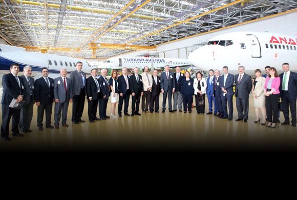 İSO Meclis Başkanlık Divanı ve Yönetim Kurulu, Teknopark İstanbul'da