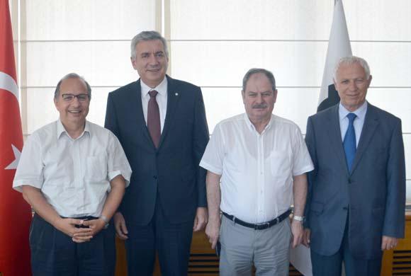 Türk Elektronik Sanayicileri Derneği Yönetimi İSO Başkanı Bahçıvan'ı Ziyaret Etti