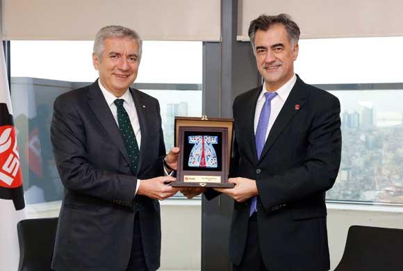 TGSD Yönetimi, İSO Başkanı Bahçıvan'a Nezaket Ziyareti Yaptı