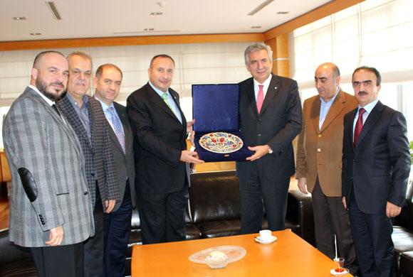 İstanbul Ticaret Borsası'ndan İSO Başkanı'na Ziyaret