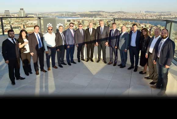 TİGSAD'ın Yeni Yönetim Kurulu'ndan İSO Başkanı Bahçıvan'a Nezaket Ziyareti