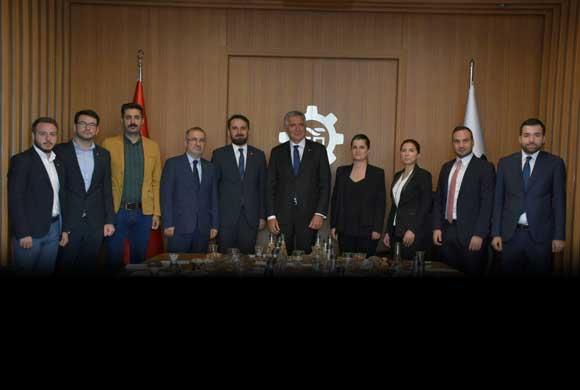 TOBB İstanbul GGK Yönetimi Çalışmaları Hakkında İSO Yönetimini Bilgilendirdi