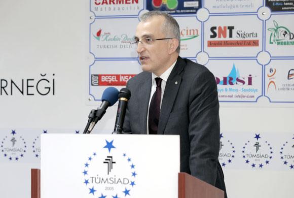 İSO Yönetim Kurulu Başkan Yardımcısı İrfan Özhamaratlı, TÜMSİAD Üyelerine Sanayi ve Sanayi Stratejilerinin Önemini Anlattı