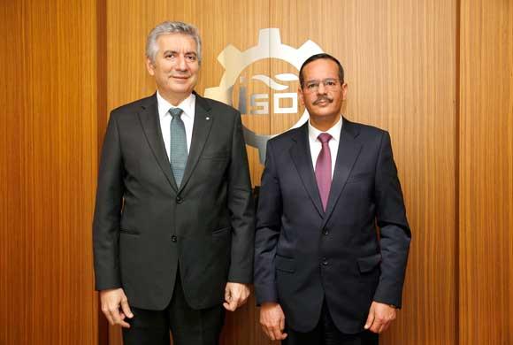 İSO Başkanı Bahçıvan, Tunus Başkonsolosu Malek'i Ağırladı
