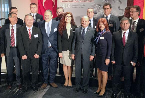 İstanbul Sanayi Odası Yönetimi Türk-Alman İnovasyon Zirvesi'ne Katıldı