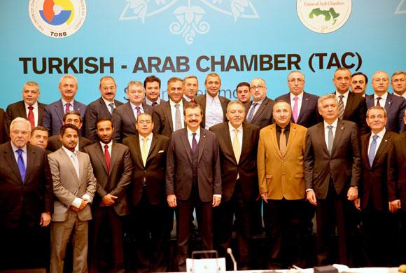 TOBB ve Arap Odalarının İmzaladığı Protokol İle Türk-Arap Odası Kuruldu