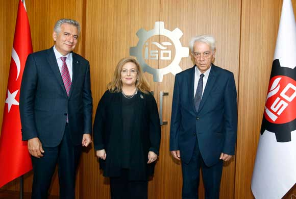 Alderman Emma Edhem, Chairperson of Turkish-English Chamber of Commerce and Industry Met with Erdal Bahçıvan, ICI Chairman of Board of Directors