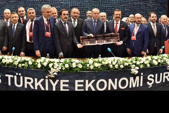 TOBB Türkiye Ekonomi Şurası Cumhurbaşkanı Recep Tayyip Erdoğan'ın Katılımıyla Yapıldı