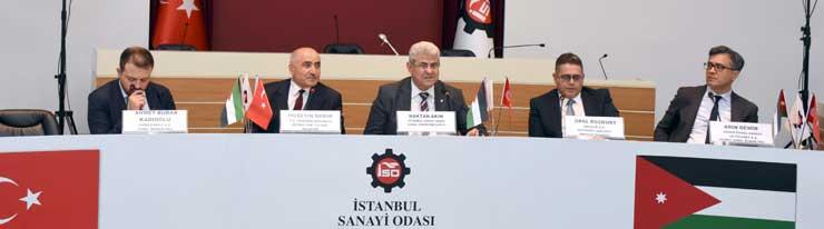 İSO'nun Düzenlediği, Ürdün Ülke Günü'nde Ülkedeki İşbirliği ve Yatırım Fırsatları Ele Alındı
