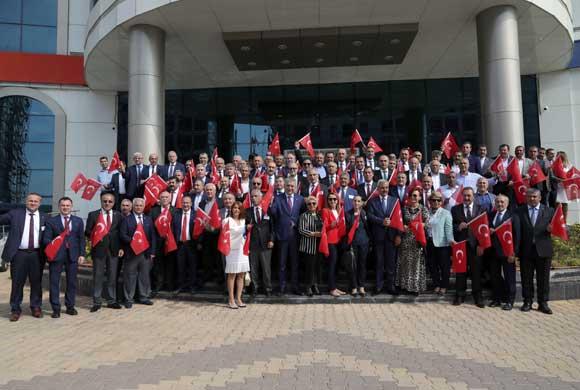 İSO Meclisi, Şanlıurfa Ticaret ve Sanayi Odası Meclisi ile Ortak Toplantı Yaptı