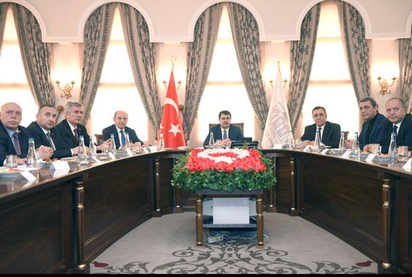 Valilikte Toplanan İstanbul İş Dünyası İstihdam Seferberliğine Hazır