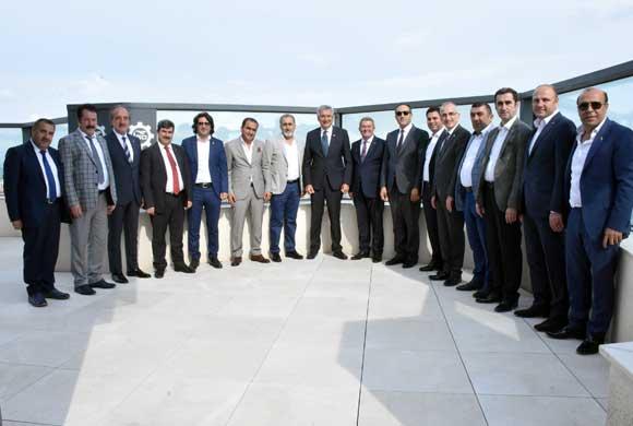 Van Ticaret ve Sanayi Odası İSO Yönetimini Ziyaret Etti