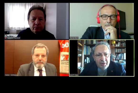 İSO, Telekonferansla Kovid-19'un Türkiye Ekonomisi ile Sektörlere Etkisini Ele Aldı