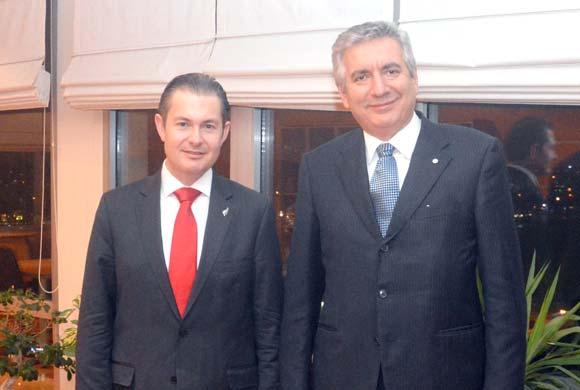 Yeni Zelanda Büyükelçisi'nden İSO Başkanı'na Nezaket Ziyareti