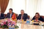 Bakan Mahmoud Vaezi Görüşmesi