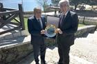 Bolu Belediye Başkanı Alaaddin Yılmaz ve İSO Başkanı Erdal Bahçıvan
