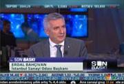 İSO Başkanı Erdal Bahçıvan, 9 Aralık 2014 CNBC-E konuğu oldu