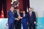MAKELSAN Makine AR-GE Müdürü Umut Oğuz ve Yönetim Kurulu Başkanı Ali Aytemiz