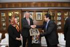 İran Ticaret Odası Başkanı Ziyareti