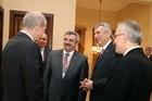 İSO Yönetimi Prof. Dr. Numan Kurtulmuş'u Ziyaret etti